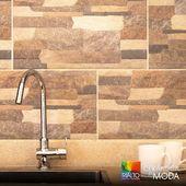 Ideal para las paredes de tu cocina. Decora con Cerámica Facciata Arena de terminado mate y otorga ese aspecto único a tus ambientes interiores o exteriores.  Cotízala en www.rialto.ec  #Rialto #CerámicasRialto #pisos #paredes #cerámica #porcelanato #hogar #decoración #homedesign #interiordesign #diseñodeinteriores #Ecuador