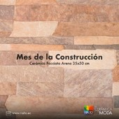Da vida a tus espacios exteriores con Cerámica Facciata Arena. El Mes de la Construcción te espera.  #Rialto #CerámicasRialto #pisos #paredes #cerámica #porcelanato #hogar #decoración #homedesign #interiordesign #diseñodeinteriores #Ecuador