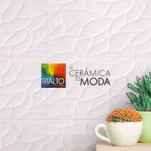 Con Cerámica Foglie obtienes un diseño diferente y a la vez inmejorable para lucir las paredes de tu hogar.  Cotízala en www.rialto.ec  #Rialto #CerámicasRialto #pisos #paredes #cerámica #porcelanato #hogar #decoración #homedesign #interiordesign #diseñodeinteriores #Ecuador